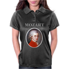 Wolfgang Amadeus Mozart Womens Polo