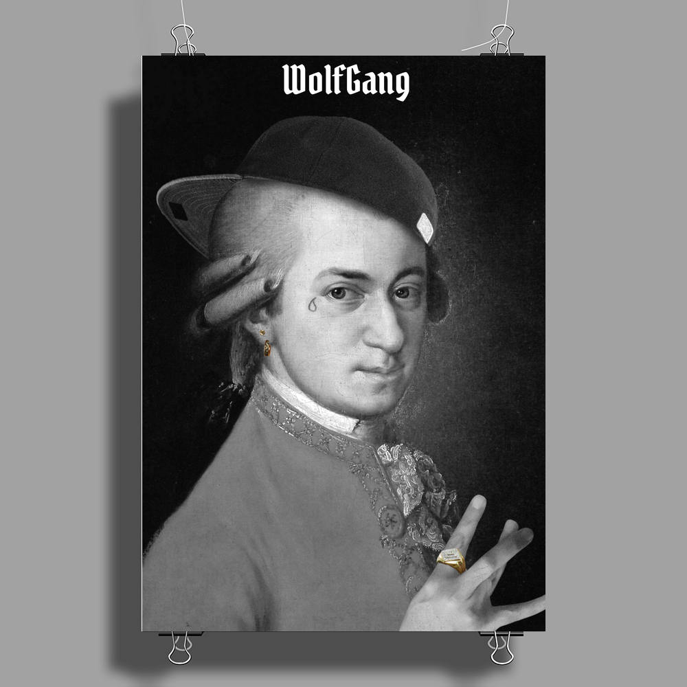 WolfGang Poster Print (Portrait)
