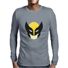 Wolverine Minimal Art Mens Long Sleeve T-Shirt