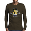 Wolverine Minion Marvel Despicable Mens Long Sleeve T-Shirt