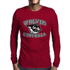 Wolves Football Mens Long Sleeve T-Shirt