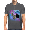 Wolves Mystical Night 2 Mens Polo