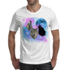 Wolves Mystical Night 2 Mens T-Shirt