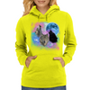 Wolves Mystical Night 2 Womens Hoodie