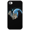 Wolves Twilight Blue Moon Phone Case