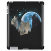 Wolves Twilight Blue Moon Tablet (vertical)