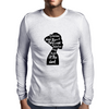 woman in black Mens Long Sleeve T-Shirt