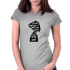 woman in black Womens Fitted T-Shirt