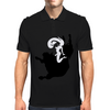 Woman on Bull Mens Polo
