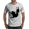 Woman on Bull Mens T-Shirt