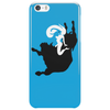 Woman on Bull Phone Case