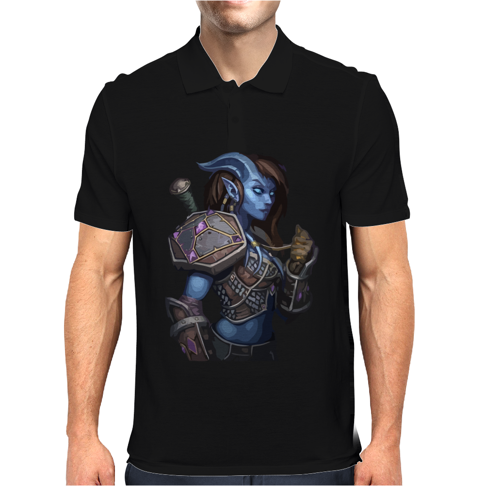 woman warrior Mens Polo