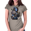 woman warrior Womens Fitted T-Shirt