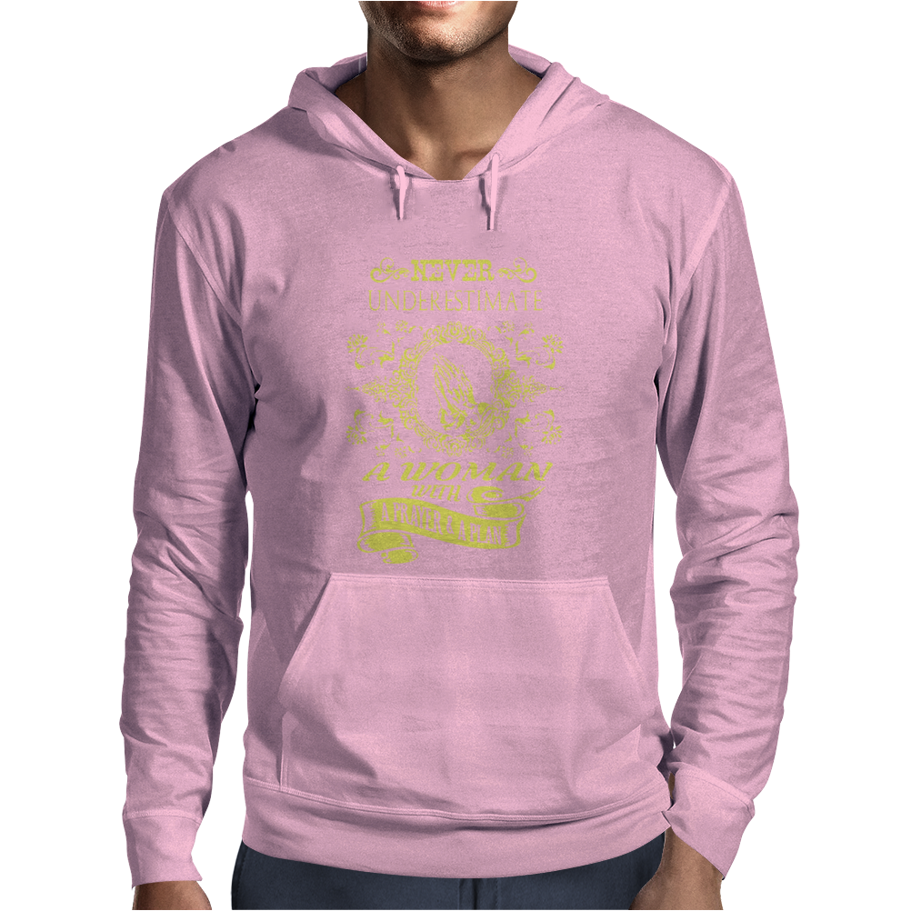 Women With A Prayer And A Plan - Funny Mens Hoodie