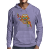Women's Sugar Skull Purple Mens Hoodie