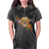 Women's Sugar Skull Purple Womens Polo