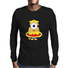 Wonder Woman Minion Mens Long Sleeve T-Shirt