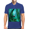 Wonderful dolphin Mens Polo