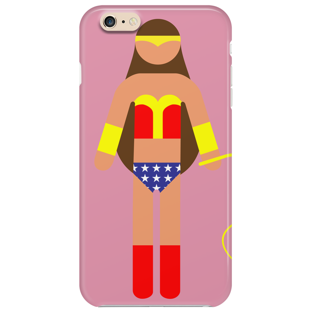 Wonderwoman picto Phone Case