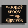 WOODEN SPOON Poster Print (Landscape)