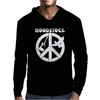 Woodstock Generation CND Guitar and Dove Mens Hoodie