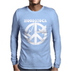 Woodstock Generation CND Guitar and Dove Mens Long Sleeve T-Shirt