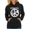 Woodstock Generation CND Guitar and Dove Womens Hoodie