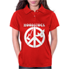 Woodstock Generation CND Guitar and Dove Womens Polo
