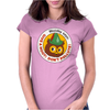 Woodsy says: Give a Hoot! Don't Pollute! Womens Fitted T-Shirt