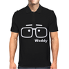 Woody Allen Manhattam Movie Vintage Mens Polo