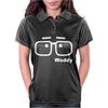 Woody Allen Manhattam Movie Vintage Womens Polo