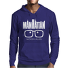 Woody Allen Manhattan Moovie Vintage Mens Hoodie