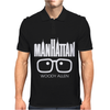 Woody Allen Manhattan Moovie Vintage Mens Polo