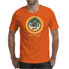 Woody Gone Surfing California Mens T-Shirt
