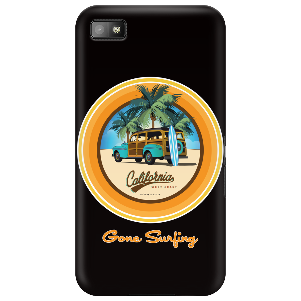 Woody Gone Surfing California Phone Case