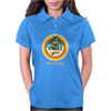 Woody Gone Surfing California Womens Polo