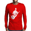 Woody Guthrie This Machine Kills Fascists Mens Long Sleeve T-Shirt