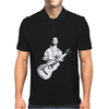 Woody Guthrie This Machine Kills Fascists Mens Polo