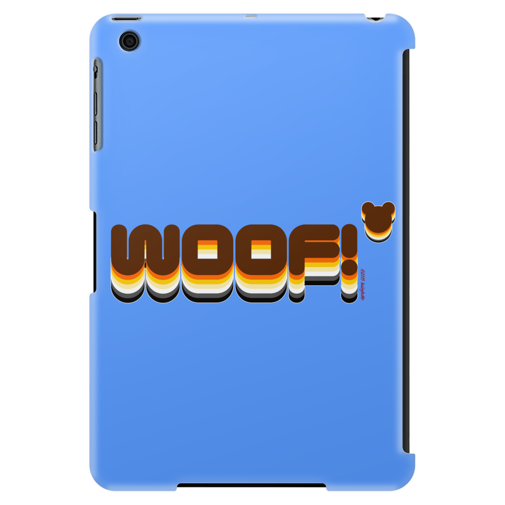 Woof Beared Tablet (vertical)