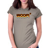 Woof Beared Womens Fitted T-Shirt