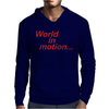 WORLD IN MOTION ENGLAND ITALIA 90 WORLD CUP FOOTBALL RETRO Mens Hoodie
