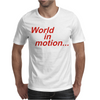 WORLD IN MOTION ENGLAND ITALIA 90 WORLD CUP FOOTBALL RETRO Mens T-Shirt
