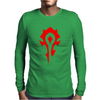 World Of Warcraft Mists Of Pandaria Horde Mens Long Sleeve T-Shirt