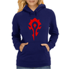 World Of Warcraft Mists Of Pandaria Horde Womens Hoodie