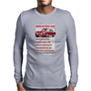Worlds Best Dad Aston Martin, Funny Birthday Present Gift Mens Long Sleeve T-Shirt