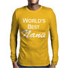 worlds best Mens Long Sleeve T-Shirt