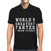 WORLD'S GREATEST FARTER Funny Mens Polo