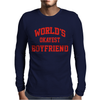 WORLDS OKAYEST BOYFRIEND Mens Long Sleeve T-Shirt
