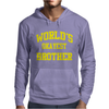 WORLDS OKAYEST BROTHER Mens Hoodie