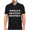 World's Okayest Brother Mens Polo